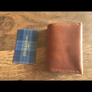 Accessories - Custom handmade leather card holder